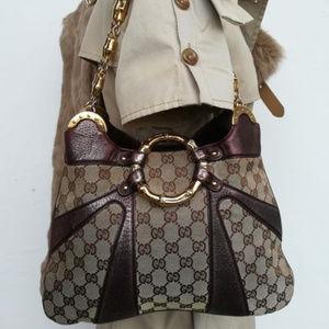 Purple Gucci Tom Ford Guccissima Bag 135962001013